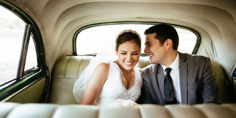 Newlyweds with Joint Checking accounts from Columbia Bank
