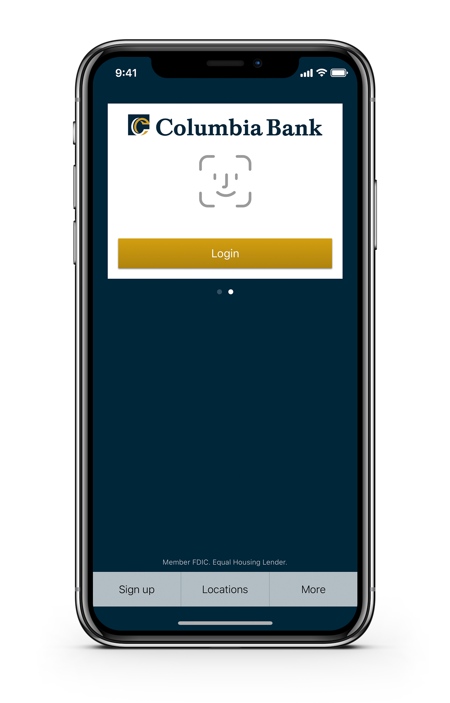 Columbia Bank App Preview